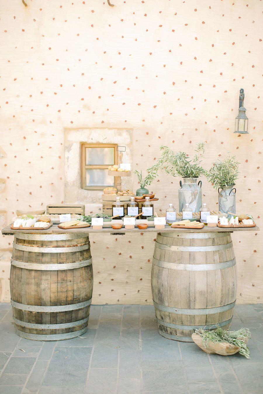 Culinary themed wedding: Photography: Anna Roussos - http://www.annaroussos.com/