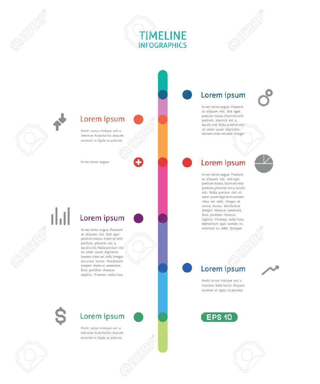 infographics timeline vertical - Sök på Google | Make info ...