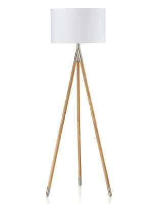 Light up your room in style with this contemporary tripod floor lamp a great accessory for adding a fresh touch to the home