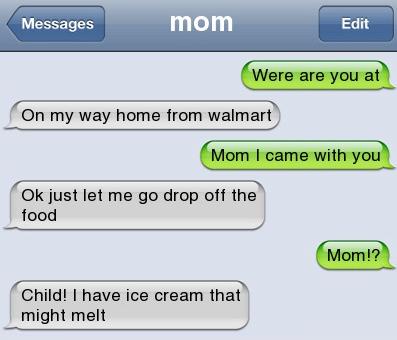 This mom: