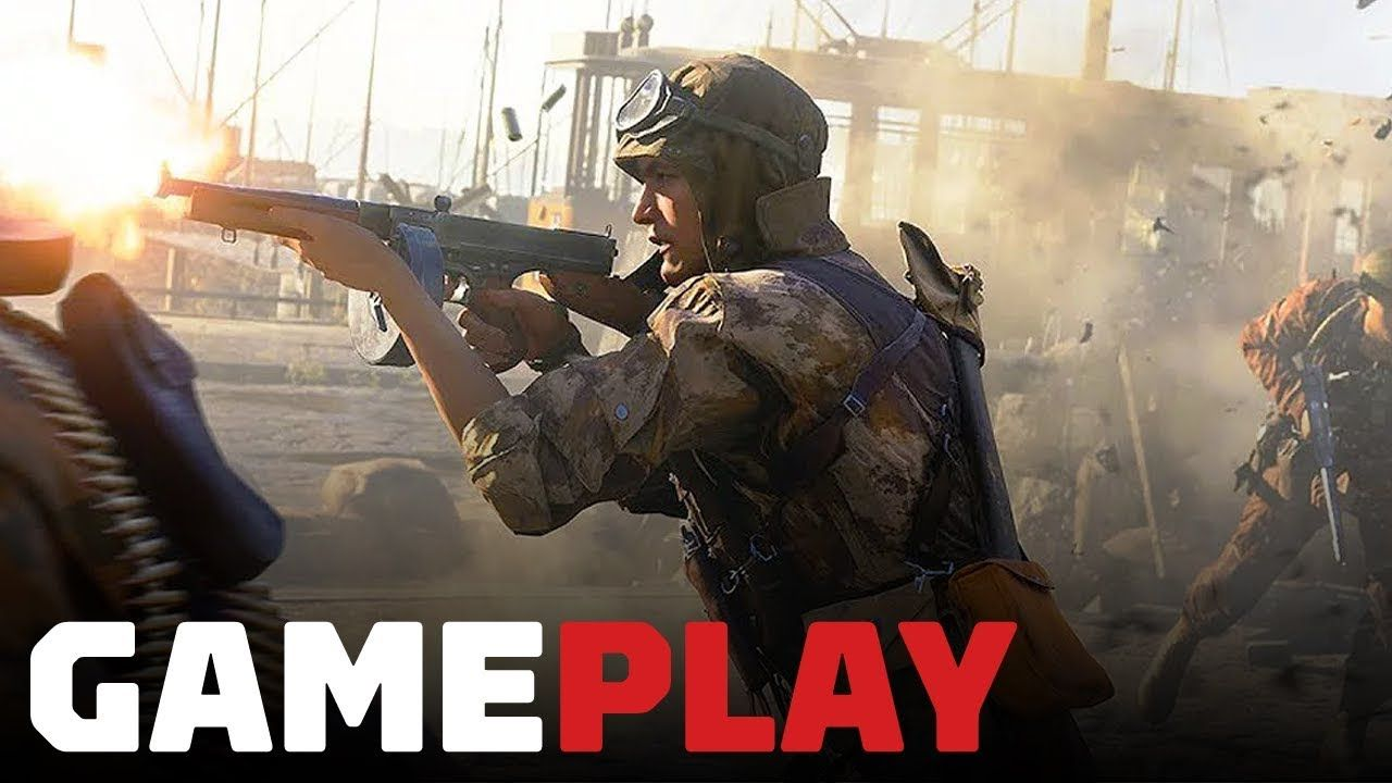 5 Minutes Of New Battlefield 5 Infantry Gameplay On Rotterdam