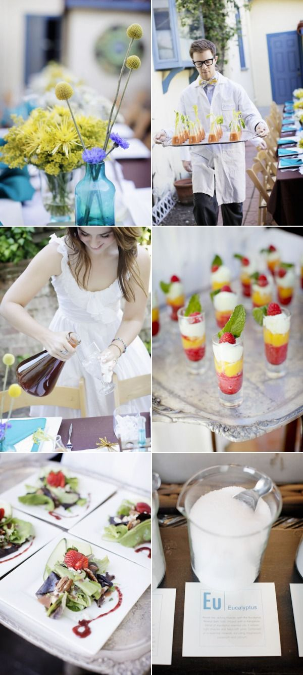 Perfect Chemistry Theme Bridal Shower by Alders Photography ...