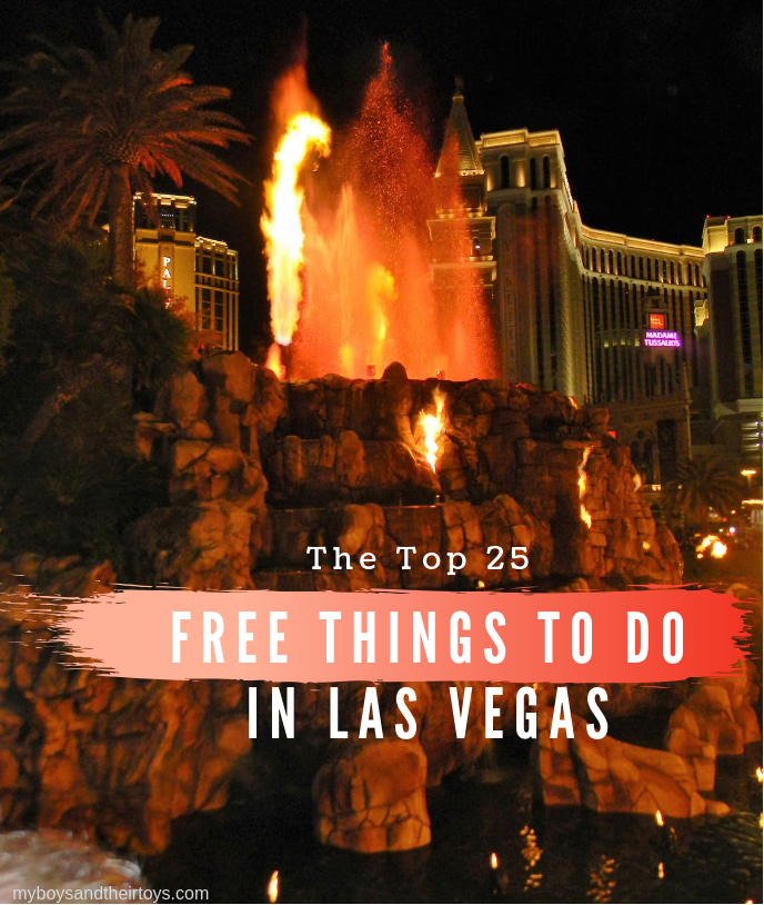 A guide to 25 sites, attractions, and freebies in the gaming.