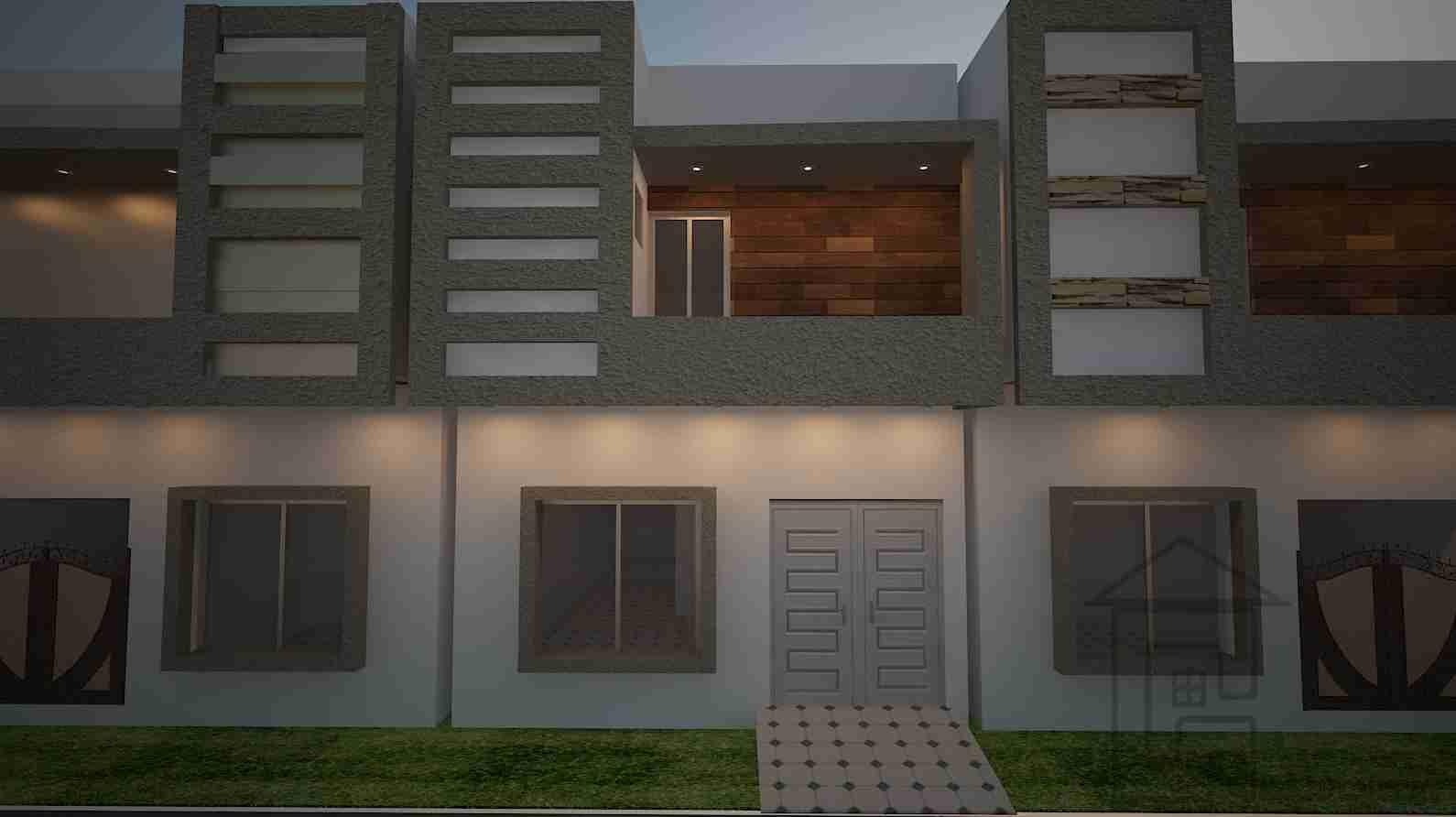 2 marla house design plan front elevation 2 marla house plan