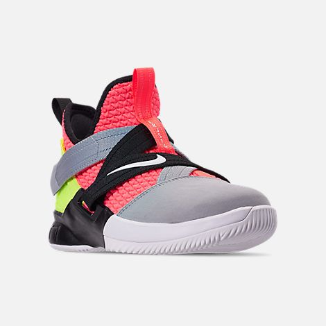 5ad69954e0a5 Three Quarter view of Boys  Big Kids  Nike LeBron Soldier 12 SFG Basketball  Shoes