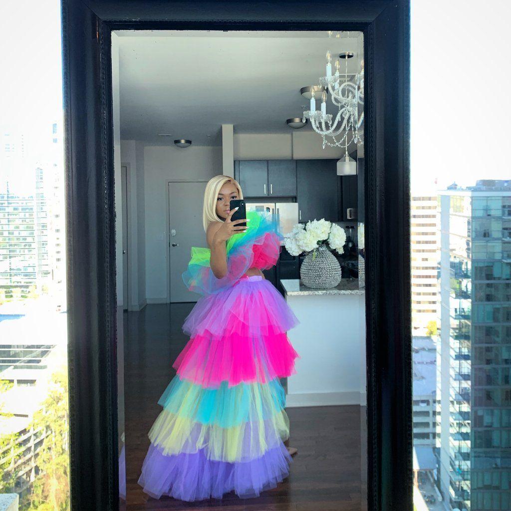 8d11536b2 Spring is here skirt in 2019   Homecoming   Skirts, Skirt set, 2 ...