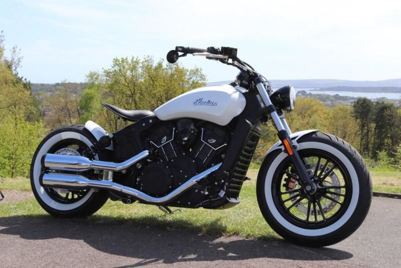 New Indian Scout Sixty Msr Bobber Custom Build Made To Your Spec