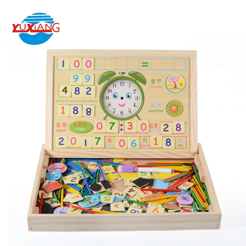 Desk Accessories & Organizer Office & School Supplies Cheap Price Wooden Alphabet English Letters Bricks Jigsaw Blocks Kids Educational Puzzle Toy Z17 Drop Ship
