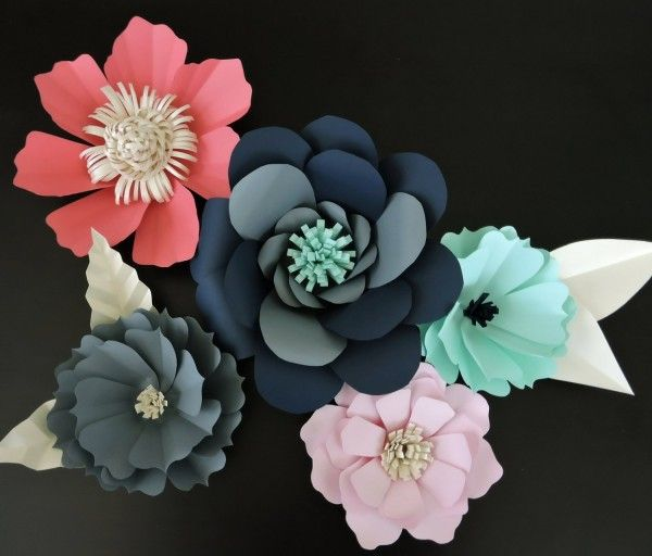 64 Easy Ways to Make DIY Paper Flowers for Gorgeous Decor #easypaperflowers