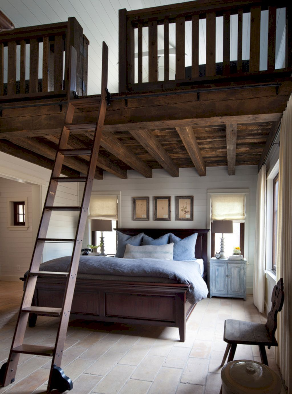 Beauty And Comfy Farmhouse Bedroom Design Ideas Bedrooms - Beautiful rustic interior design 35 pictures of bedrooms