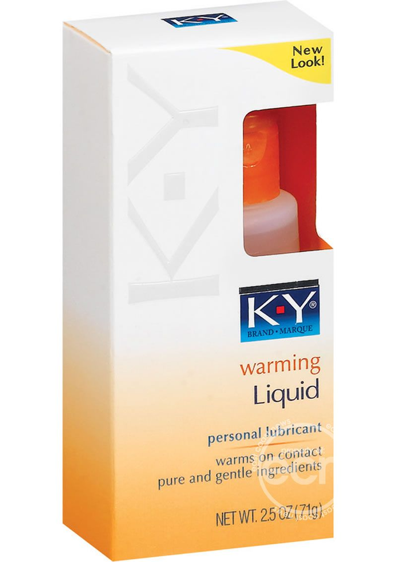 Ky warming liquid ingredients