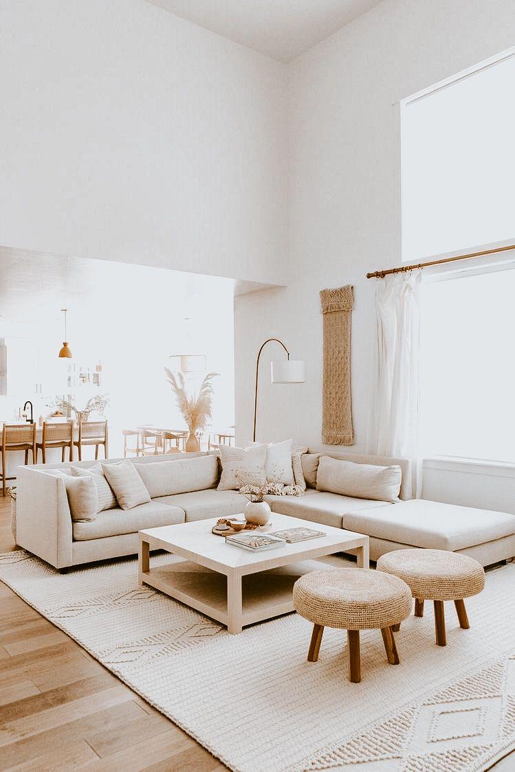 5 Home Lightroom Presets For Mobile And Desktop Indoor Bohemian Instagram Blogger Minimal Neutral Warm Vsco Interior Influencer Ames Interiors Living Room Designs Minimalist Living Room Minimalist home living room design