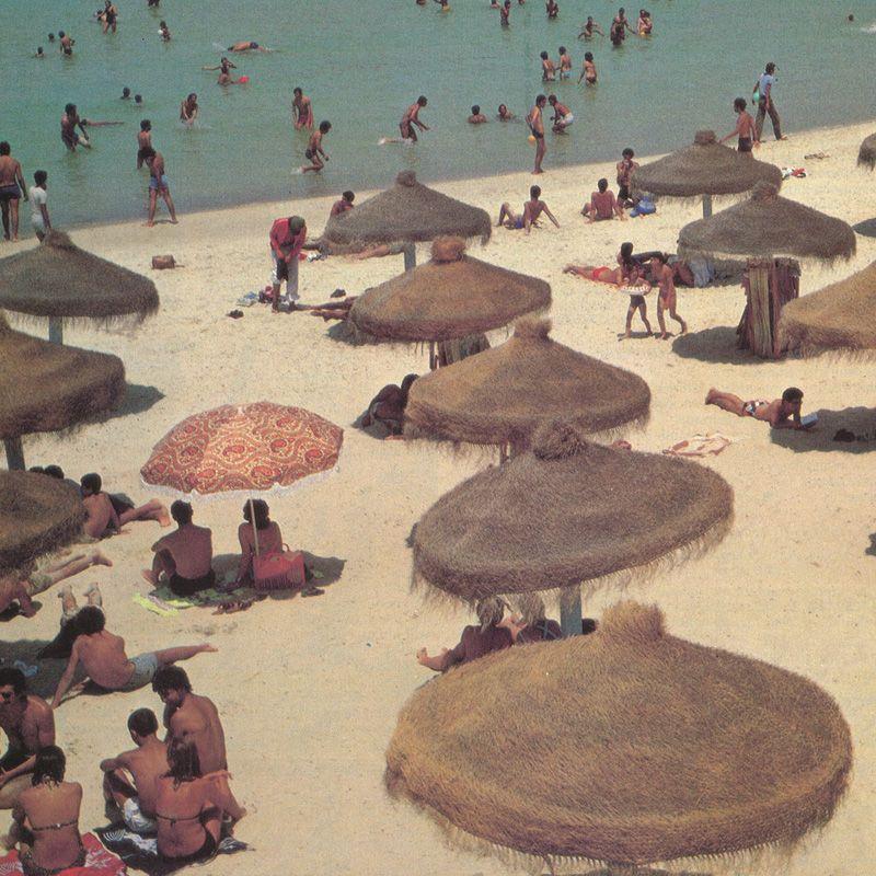 Tunnelmia Tunisian rannoilta