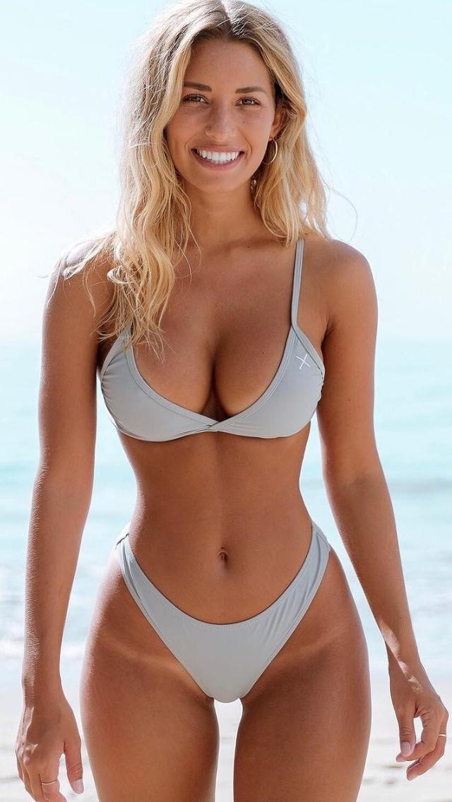 Bikini Modellen, Bikini Set, Bikini Meisjes, Verknipte Meisjes, Body Suits,  Prachtige Vrouwen, Peervormige, Strak Lichaam, Fitness Motivatie