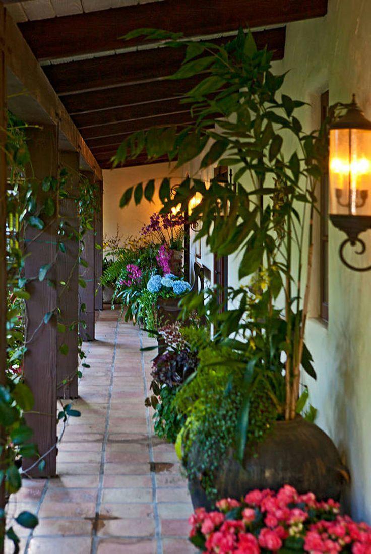 Hacienda Style Decorating Ideas House Improvement Ideas