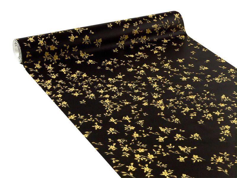 Intisse Versace Florali Coloris Or Noir Papier Peint 4murs Na