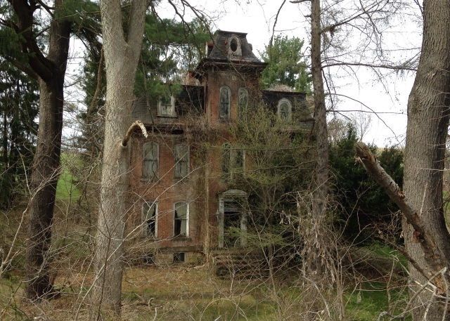 Image result for Pennsylvania and Lake Erie Railroad line, abandoned houses, photos