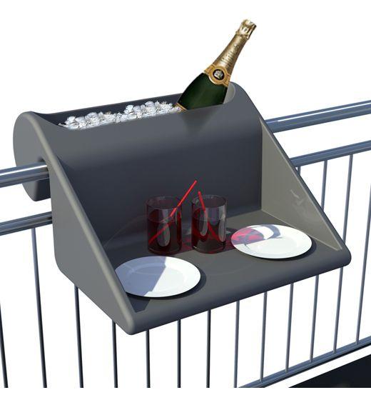 Neuartiges Moblierungskonzept Fur Kleine Balkone Tisch