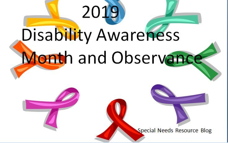 2019 Disability Awareness Month And Observance Calendar