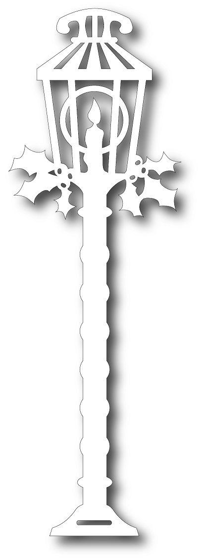 Tutti Designs - Cutting Die - Holiday Lamp Post #floconsdeneigeenpapier