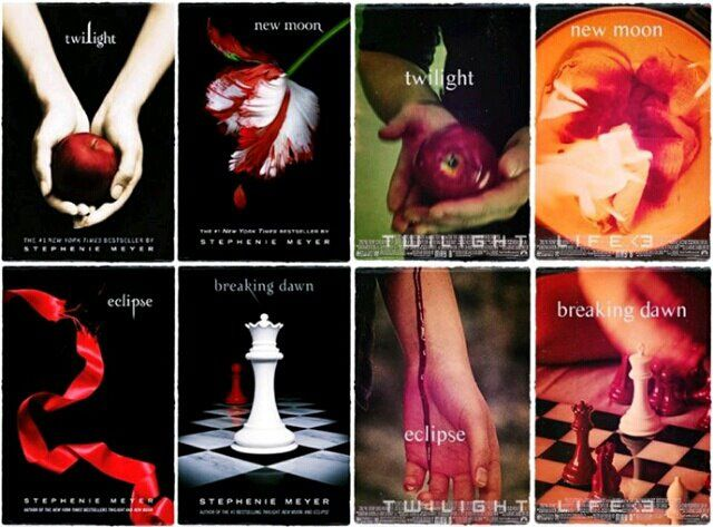 Are twilight book cover agree