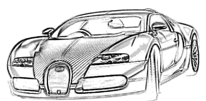 Bugatti Veyron Pur Sang Coloring Page | Bugatti | Bugatti ...