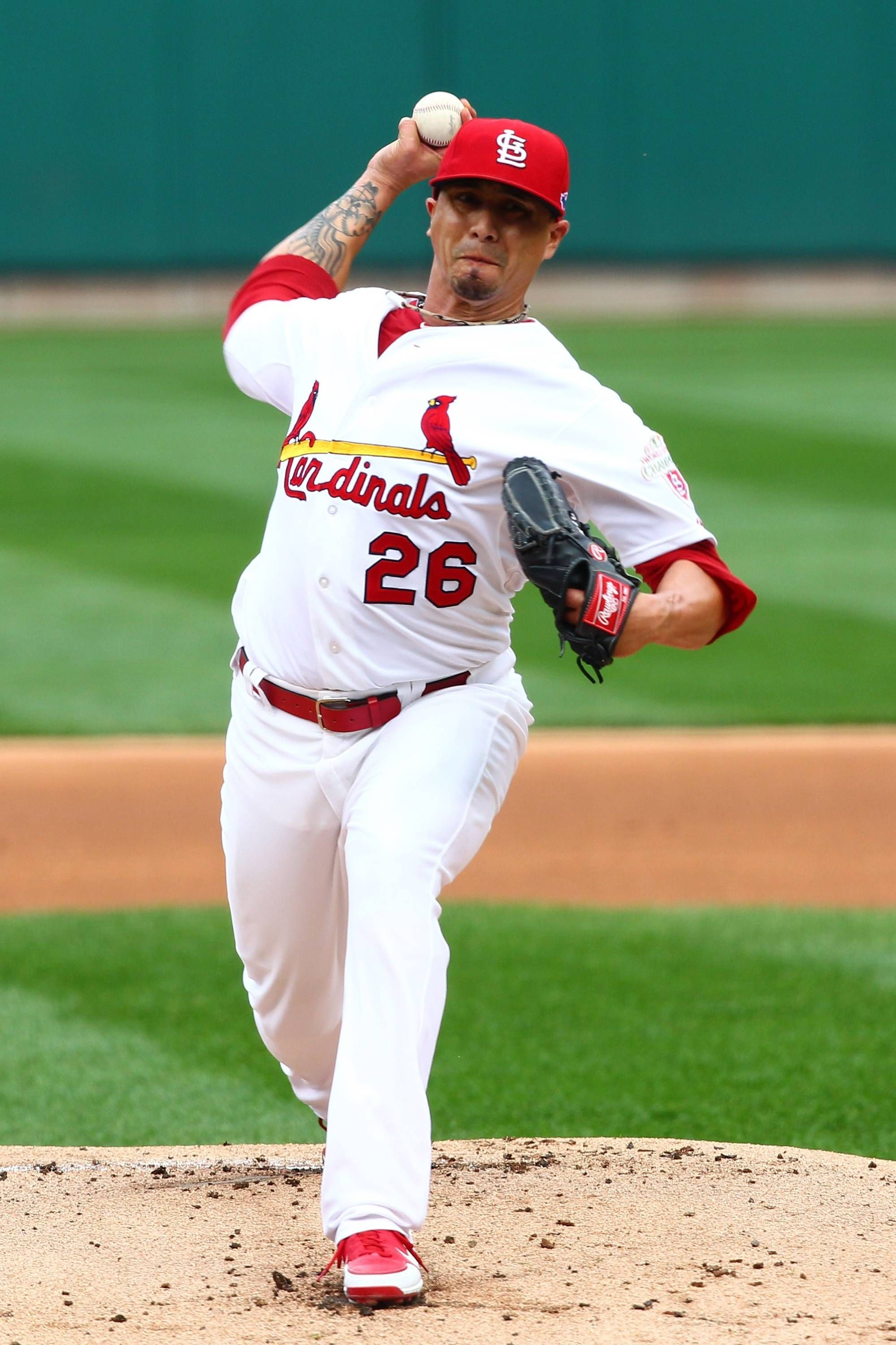 Game 3 of the NLCSstarting pitcher Kyle Lohse 101712