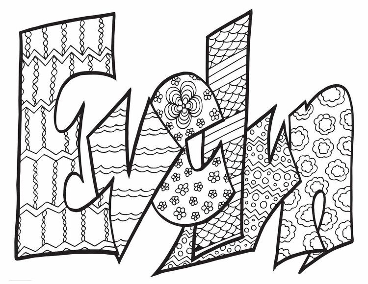 Evelyn Classic Doodle Free Coloring Page Stevie Doodles Free Coloring Pages Coloring Pages Free Kids Coloring Pages