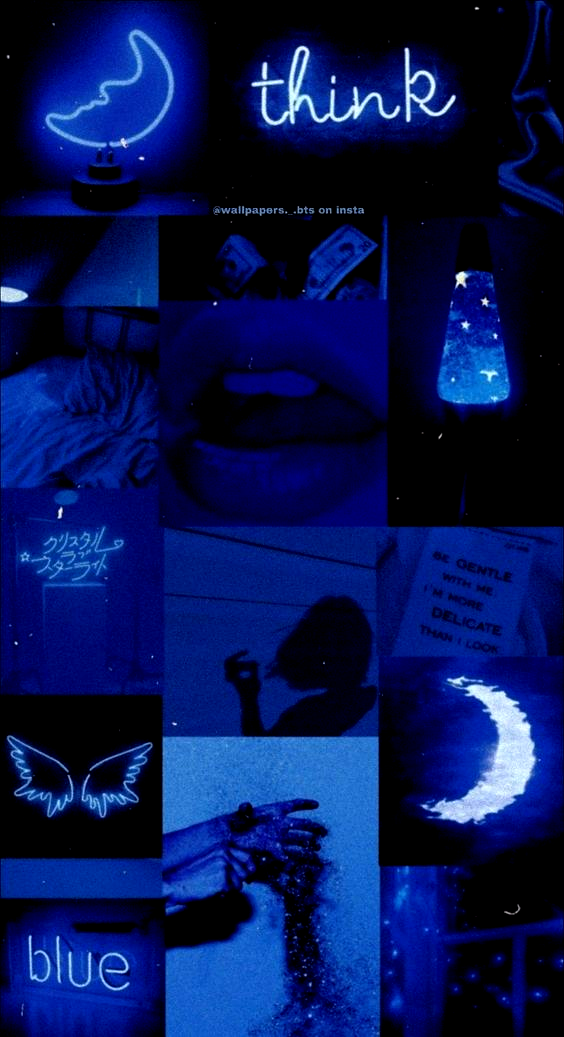Aesthetic Collage Dark Blue Aesthetic Aestheticallypleasing Chillvibes In 2020 Iphone Wallpaper Tumblr Aesthetic Blue Wallpaper Iphone Dark Wallpaper Iphone