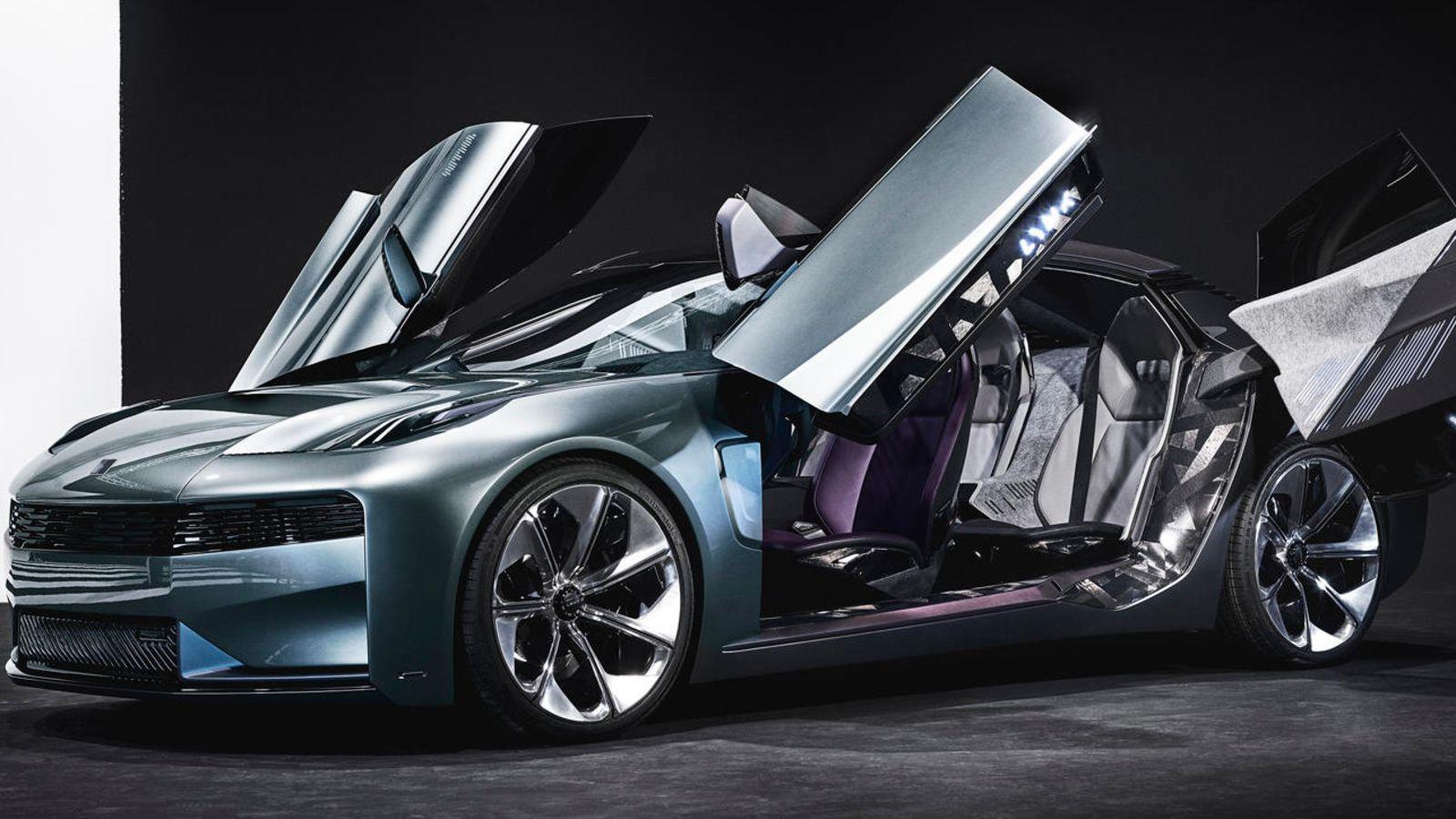 Lynk Co S New Concept Sedan Looks Kind Of Awesome Concept Cars Super Cars Sedan