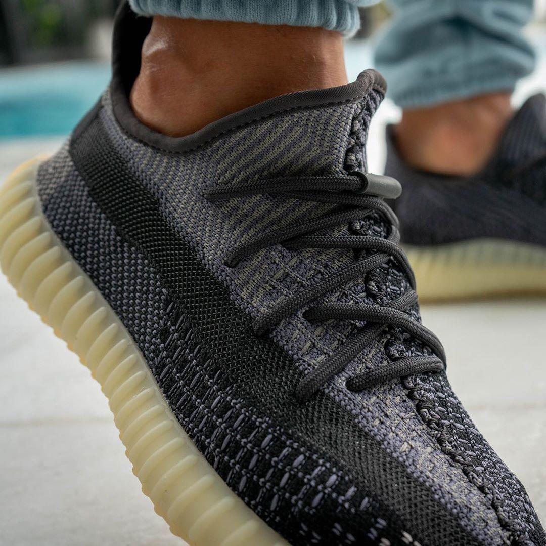 Adidas Yeezy Boost 350 V2 Carbon Extravagante Schuhe Sneaker Yeezy