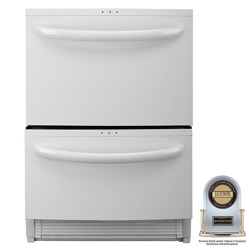 Kenmore Elite 13342 24 Double Drawer Dishwasher With Sliding