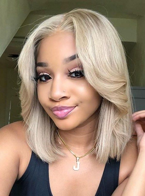 Fantastic Blonde Bob Haircuts And Styles To Try Nowadays In 2020 With Images Blonde Bob Haircut Blonde Hair Color Blonde Bob Wig