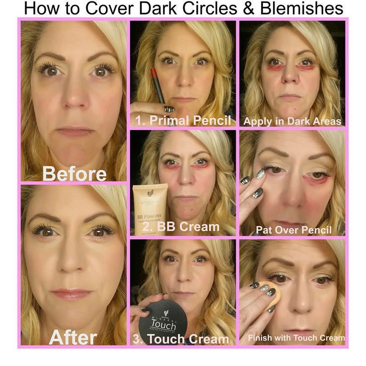My sponsor demonstrating how to cover dark circles!!! AngelWingLashes.com #DarkCirclesUndereye #darkcircle