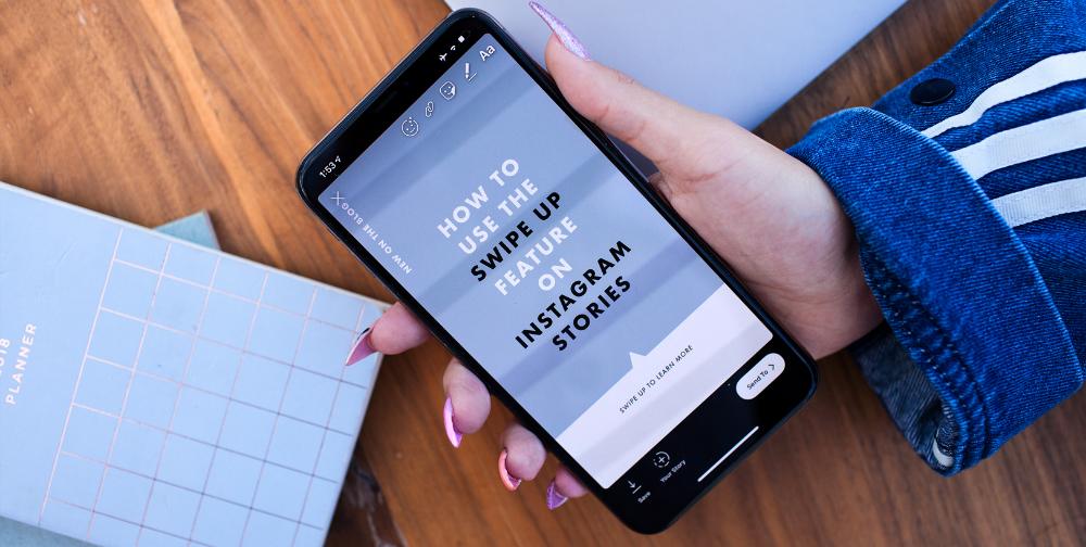 Instagram Swipe Up How To Add A Link To Instagram Stories Instagram Business Account Instagram Business Instagram
