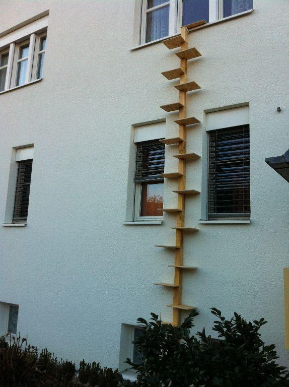 katzenleiter katzentreppe katzenwendeltreppe katzenbaum. Black Bedroom Furniture Sets. Home Design Ideas