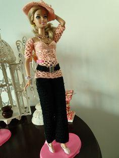roupas de croche para barbie - Pesquisa Google