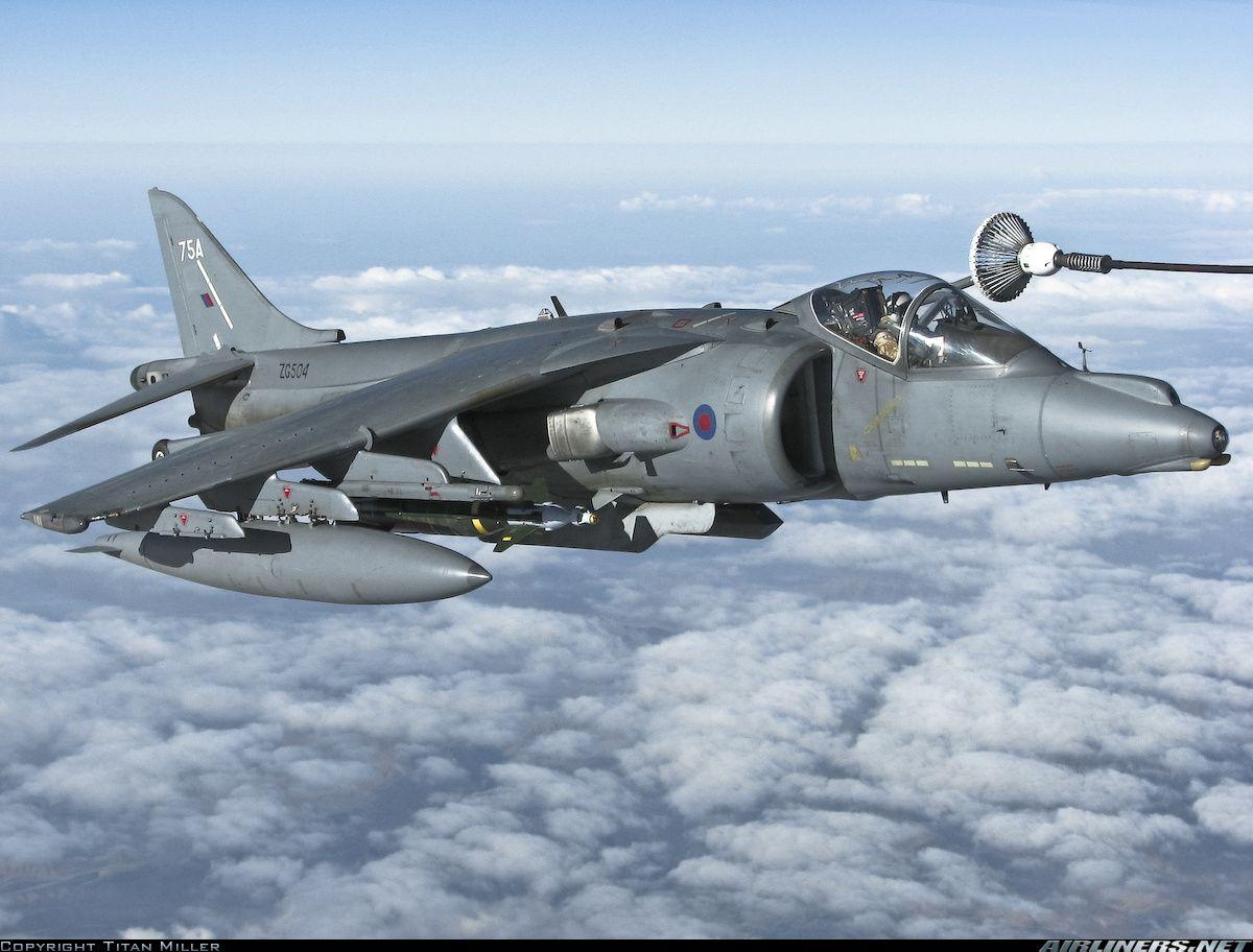 British Aerospace Harrier GR7 aircraft picture | British ...