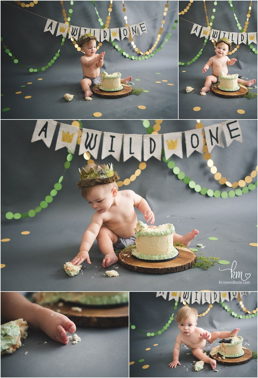 1st Birthday Cake Smash Where The Wild Things Are Birthday Shirt First Birthday One Birthday shirt Personalized Wild One