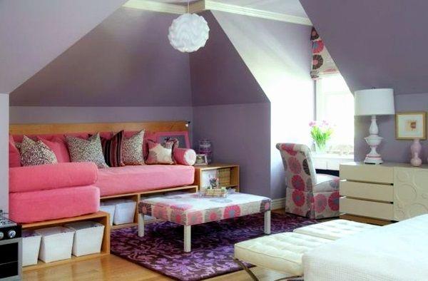 ★ Germani Decor - Bambini Tweeny - Pink Lilac Cozyness ★ #GermaniDecor #CustomHomeDecor #TeenRoom #Girl #HomeDecor #Purple #Pink