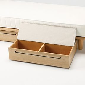 Underbed Storage Drawer Lid Under Bed Storage Small House