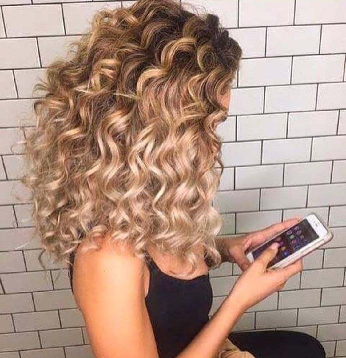 Starrbellla Diy Naturally Tutorial Short Ideas Long Products Howtoget Overni Curly Hair Styles Naturally Hair Highlights Balayage Hair Blonde