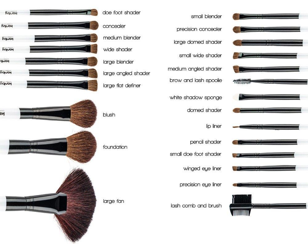 makeup tools names. studio 24-piece natural hair makeup brush set | karity.com tools names k