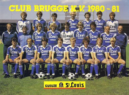 CLUB BRUGGE K.V 1980-81 En haut : B. Jensen, W. Meews, D. Ranson, P. Verhoosel, R. Vandereycken, Z. Filipovic, F. Vandewalle. Au milieu : H. Grijzenhout (ent.), E. Marrinnier (kiné), P. Courant, J. Sorensen, L. Barth, J. Ceulemans, G. Leekens, I. Magyar, R. Mertens (ent. adj.). En bas : L. Balint, J. Volders, A. Bastijns, D. Vandenhende, L. Vanwalleghem, J. Debougnoux, G. Maes, P. Kupiainen.