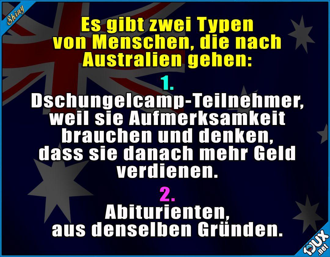 australien sprüche lustig