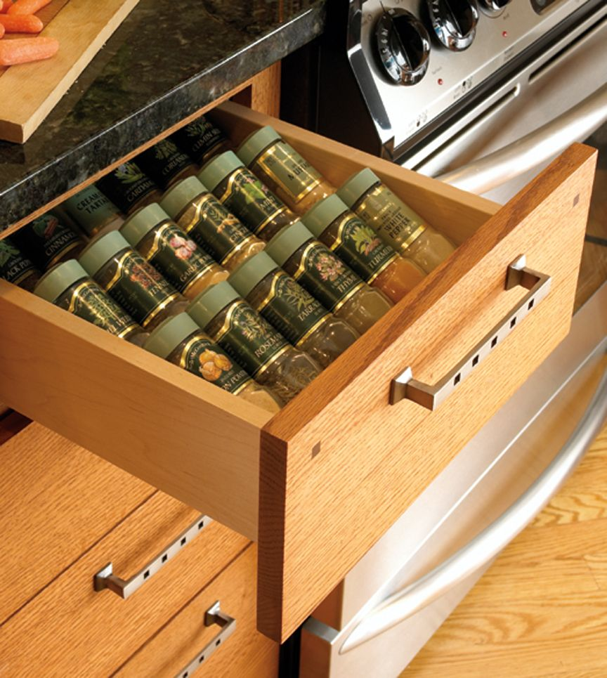 Kitchen drawer inserts for spices - Spice Drawer Inserts Are An Organizational Life Saver Spices Drawer Kitchen Storage