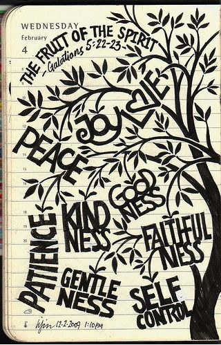 Just love this. Fruit of the Spirit - fantastic graphic!