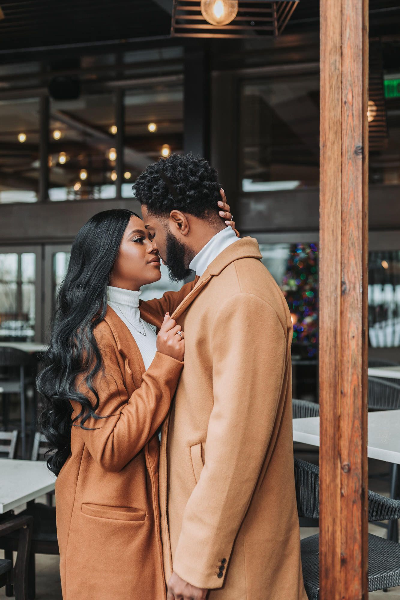 St. Louis Wedding Photographer -   17 christmas photoshoot couples black ideas