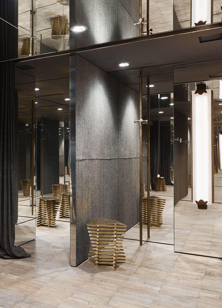 Antonia boutique palazzo cagnola milano italy shop for Milano design shop