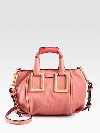 94c7fce454 Chloé - Mini Ethel Leather Crossbody Bag - Saks.com | HAND ME YOUR ...